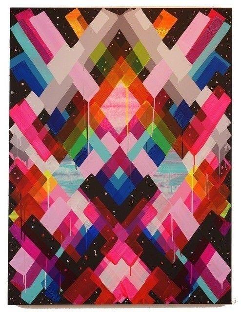 Maya Hayuk, Chem trails #art