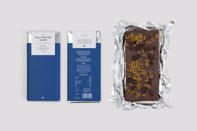 Three Kings Festive Chocolate Bars on Packaging of the World - Creative Package Design Gallery