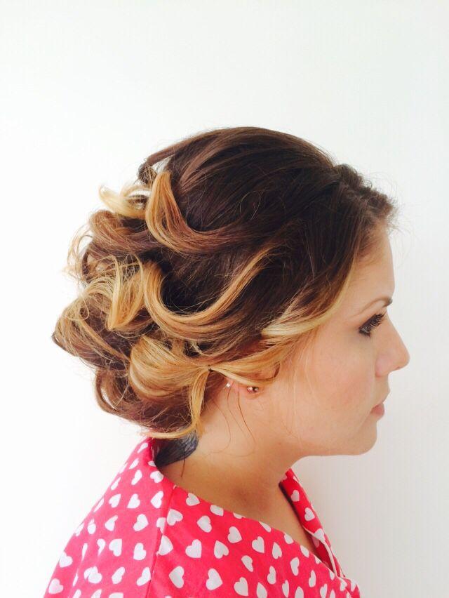 Bridesmaids 2015 hair by joblack