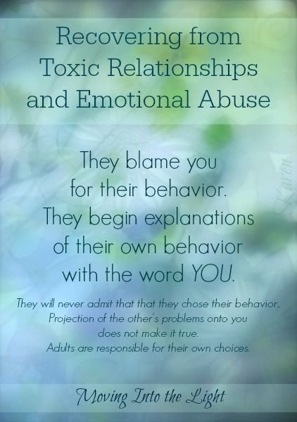 Recovering from Toxic Relationships and Emotional Abuse