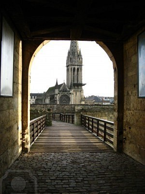 Castle Gate, Caen, France