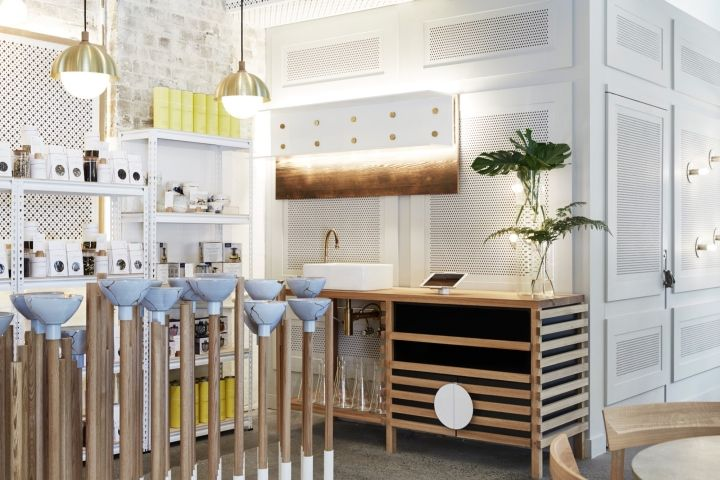 The Rabbit Hole – Organic Tea Bar by Matt Woods Design, Redfern – Australia » Retail Design Blog