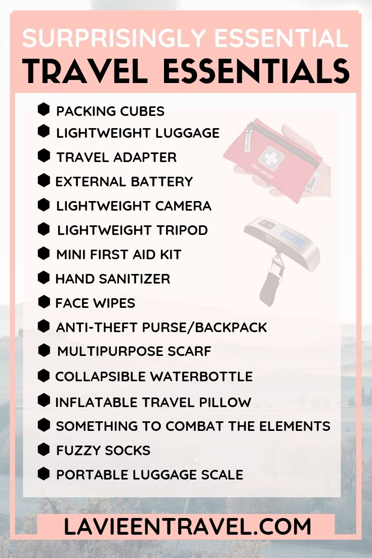 16 SURPRISINGLY ESSENTIAL THINGS TO PACK FOR A VACATION