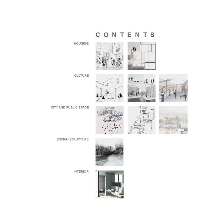 Architecture student portfolio book for Architecture student