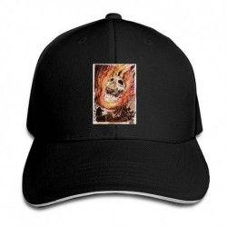 BlackGhost Rider Drawing Men's Sun Hats