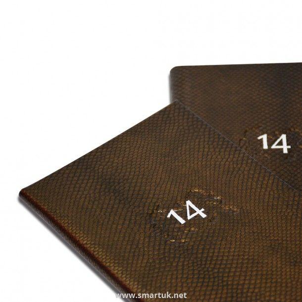 Mamba Snake Skin Menu Covers - Smart Hospitality Supplies