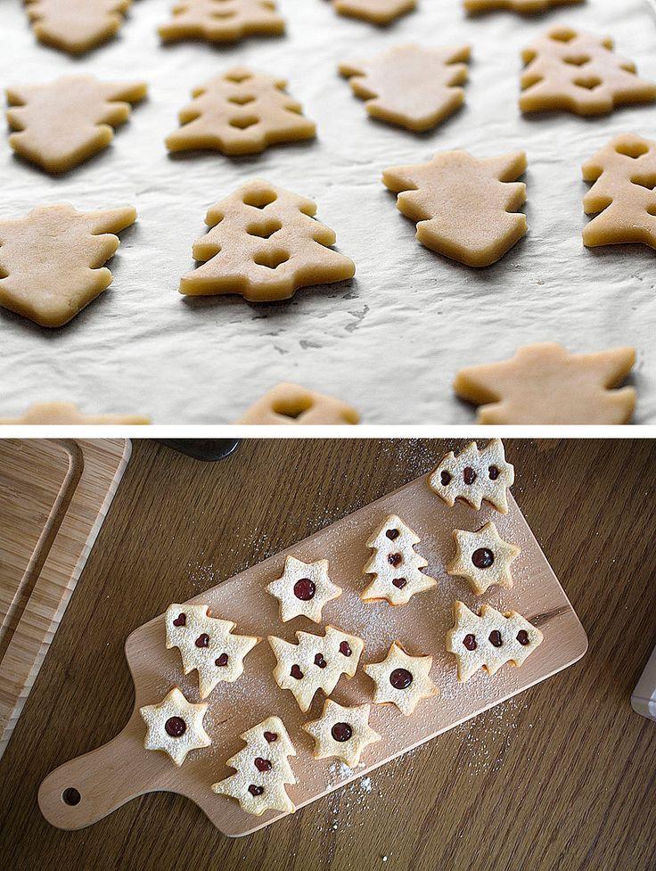 Pocukrované vianočné koláčiky ♥