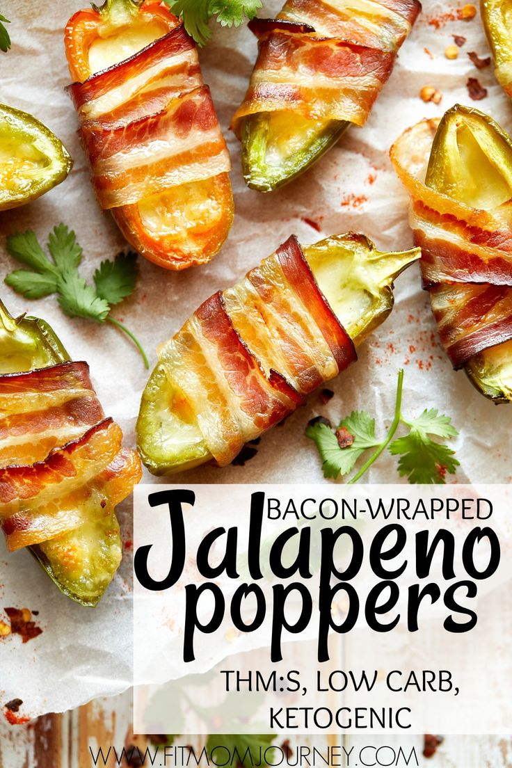 You can whip up these Bacon Wrapped Jalapeno Poppers in no time at all - and no one will know that they're Keto! They make a great, crowd-pleasing appetizer!