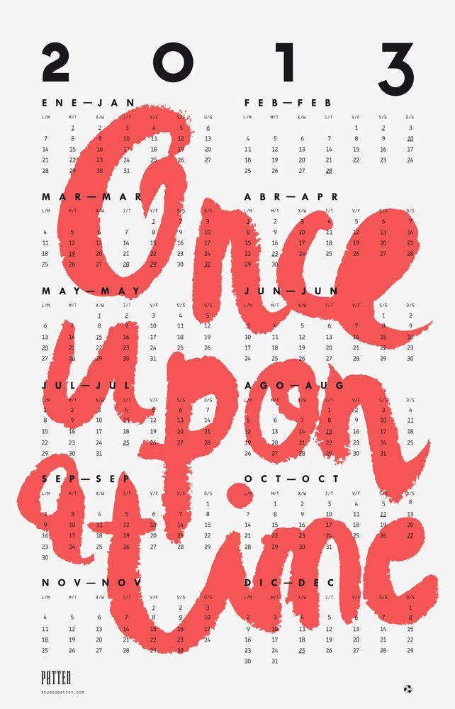 Patten Calendar 2013