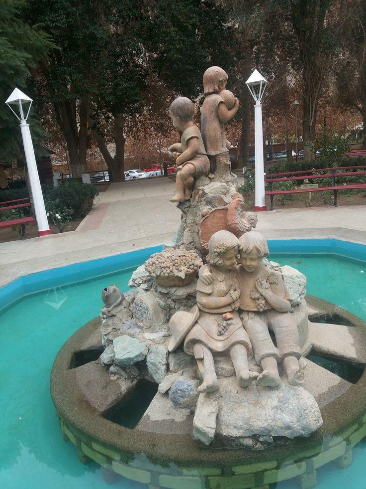 Plaza Valle del Elqui, Chile
