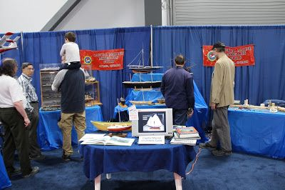 Capital Marine Modellers' Guild Display at the 2018 Ottawa Boat Show