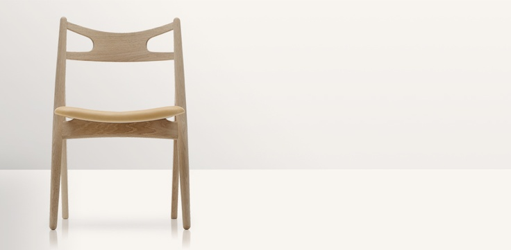 CH29 - beautiful and comfortable dining chair from Danish designer Wegner.