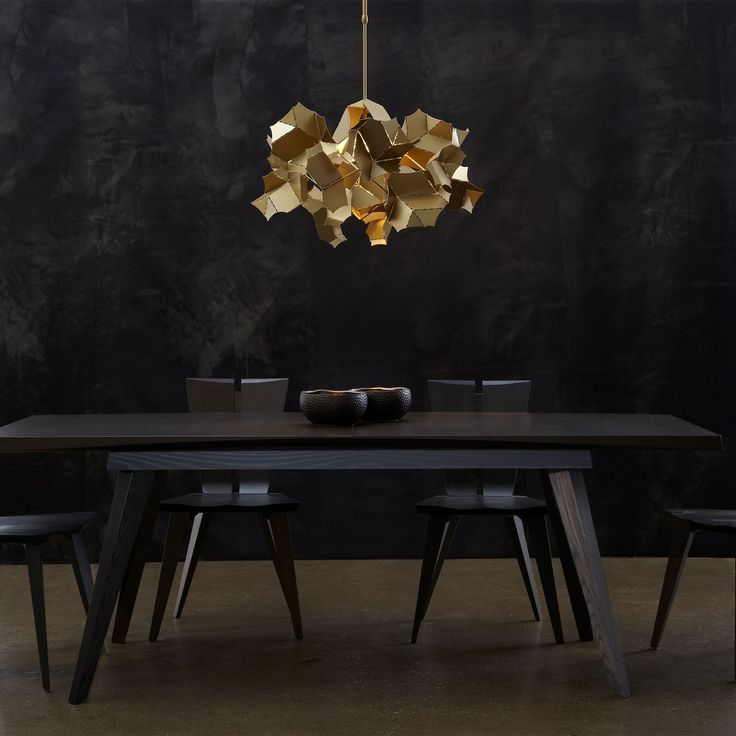 The Cumulus Pendant Light Is An Organically Shaped Adjustable Height Fixture