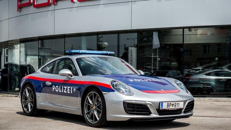 New Porsche 911 Reports For Police Duty In Austria [w/Video]