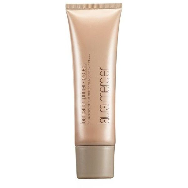 Laura Mercier Foundation Primer Protect SPF 30 ($43) ❤ liked on Polyvore featuring beauty products, makeup, face makeup, makeup primer and laura mercier