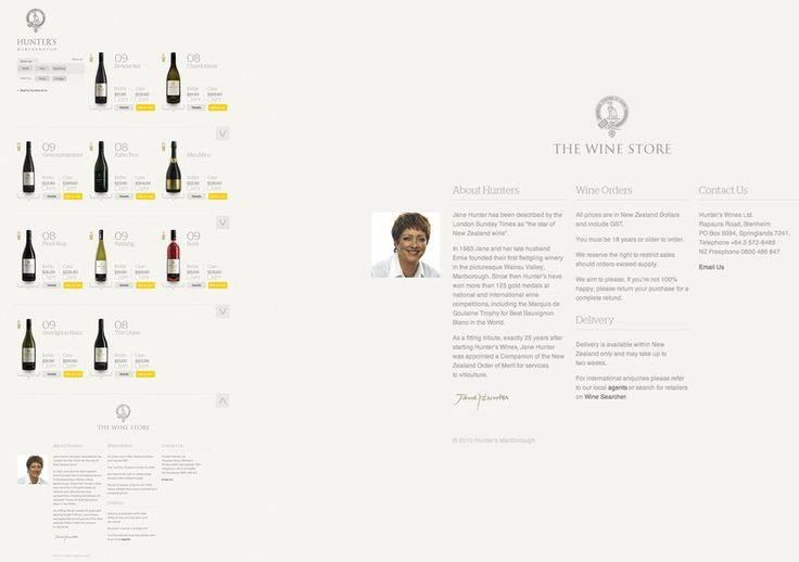 Best Awards - Sons & Co. / Hunter's Wine Shop