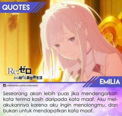 Emilia Quotes(indo version)