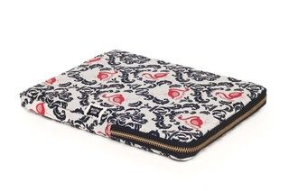 Funda Tablet - Con Cierre - Vintage Flamingo