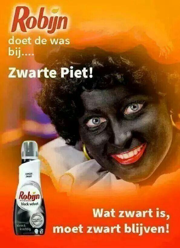 Zwarte piet moet blijven 2014