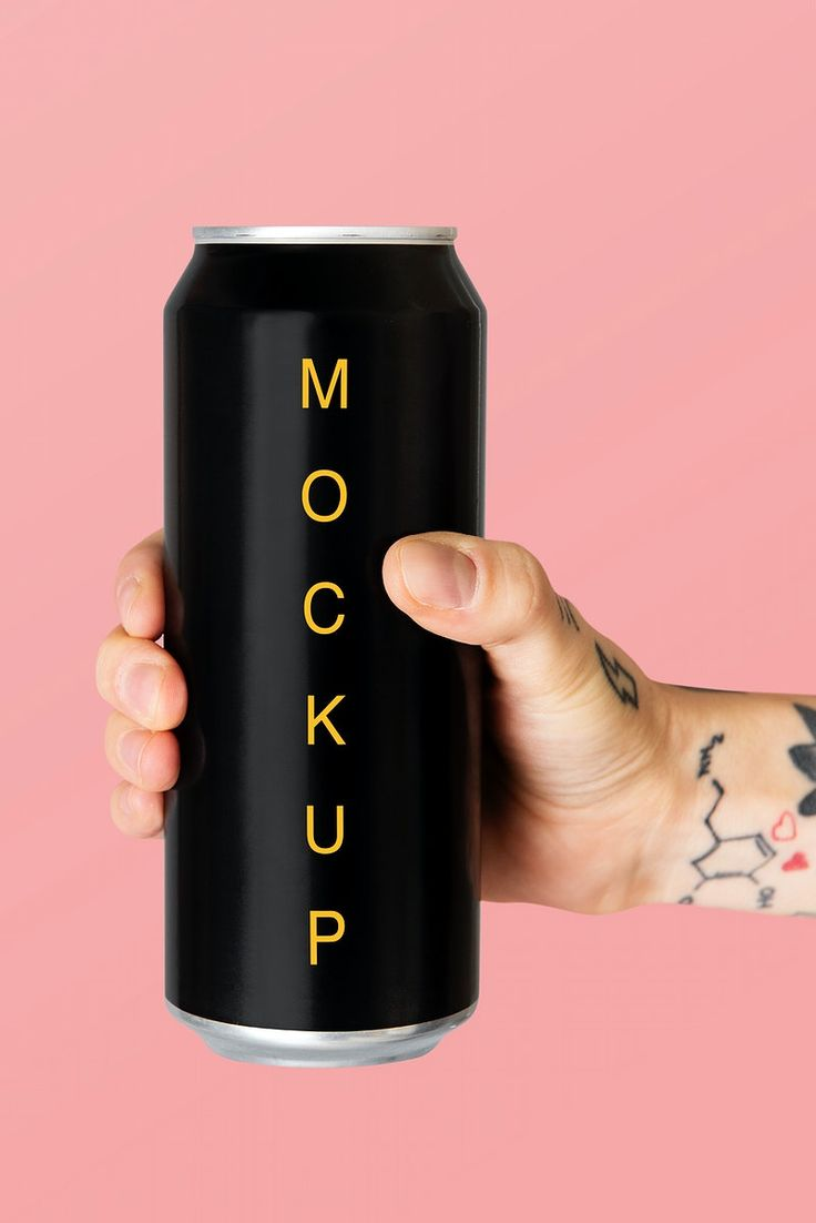 Beer cans mockup