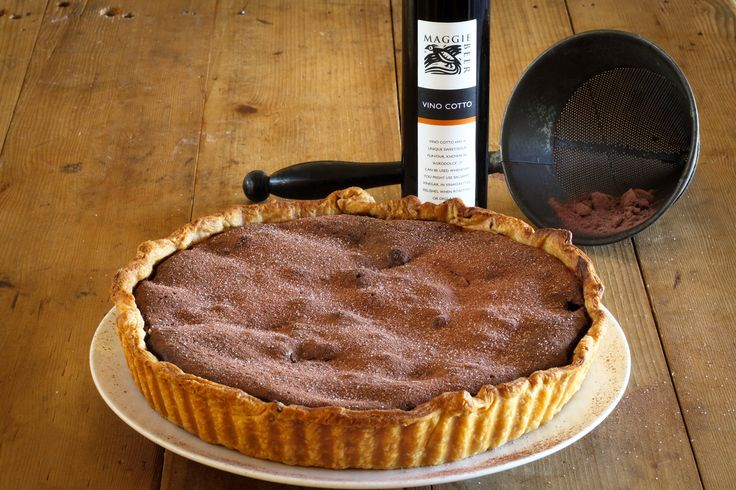 Chocolate, Quince and Almond Tart - Maggie Beer