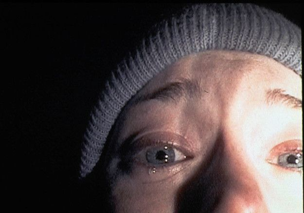 "The well-known scene with Heather's zoomed in face was not planned! She didn't realize the camera was that zoomed in. | 17 Things You Probably Didn't Know About ""The Blair Witch Project"""