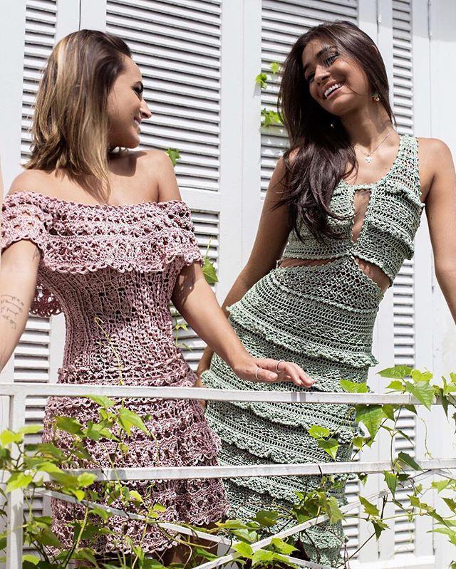 Платье Мартини и Афины. Ванесса Монторо. - Вязание - Страна Мам