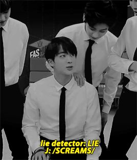 The Show 150708 : BTS - Jin and the lie detector (2/2)
