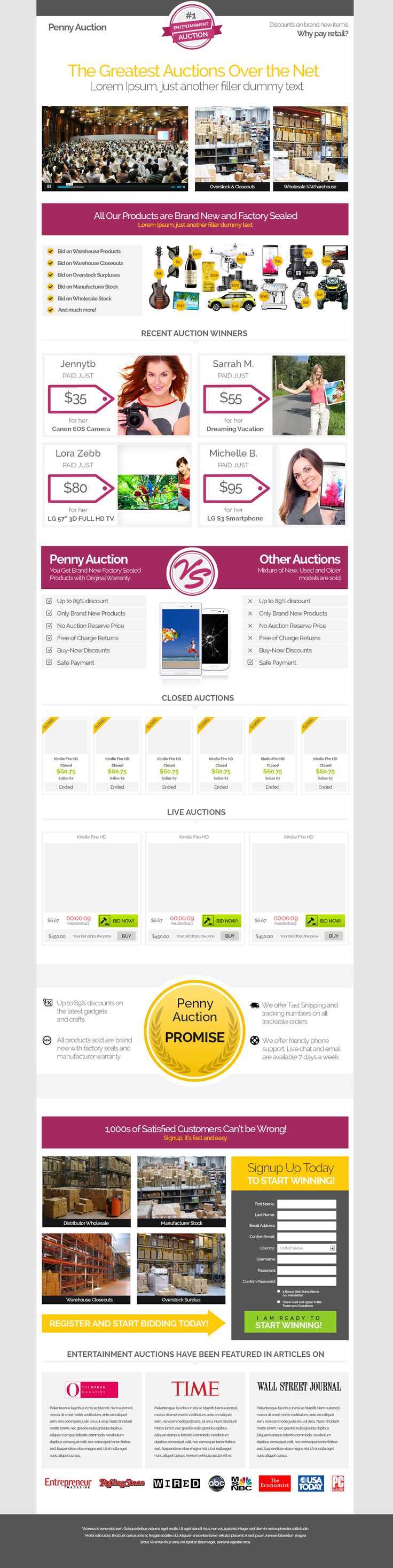Auction Website Template 8 Best Website Template Design Images On Pinterest  Design