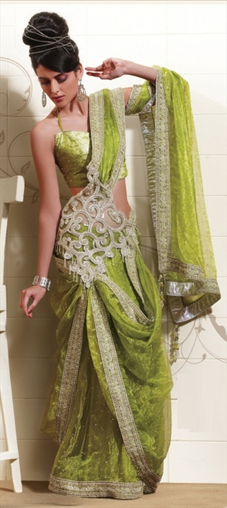 Amazing sari. Love an excuse to wear this.