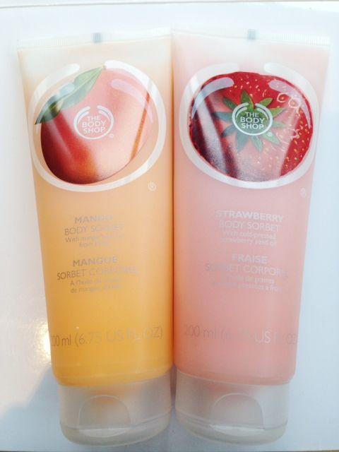 The Body Shop Body Sorbets - BritishBeautyBlogger