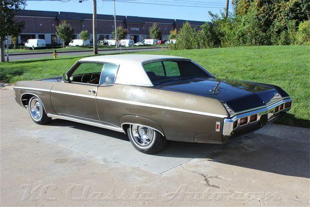 1969 Шевроле каприз одним владельцем на продажу, мышцы автомобилей, Коллекционер, антикварный, и ретро-автомобили, Стрит-роды, Хот-роды, рэт-роды, и грузовых автомобилей на продажу по КС классический авто в heartland, Среднем Западе США, Канзас-Сити, классический и мышцы автосалон, музей и хранения