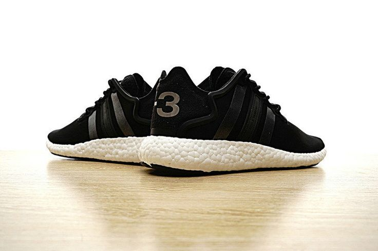 Chaussures De Course 2017 adidas Y-3 Yohji Boost Will Release In A noir/Black And White/blanc Colorway EUR 36-46
