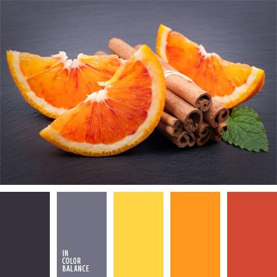 Best color scheme ever. Replace that gray with a rich, warm brown, and it's my ideal decor look.