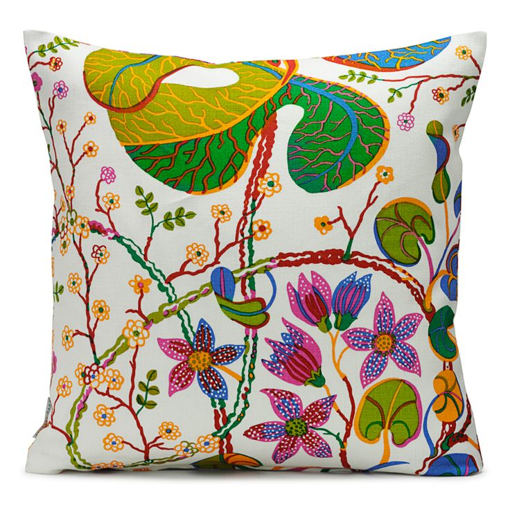 Oh gosh, Josef Frank is a favorite of all time. I want all these pillows!!!