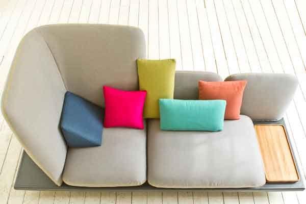 #sofa4manhattan, design by Lera Moiseeva and Joe Graceffa coordinated by Luca Nichetto.