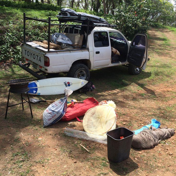Surf trip Popoyo – Matériel de camping 4×4
