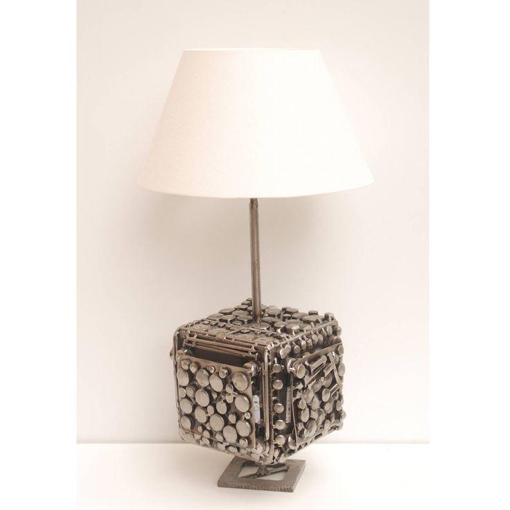 Star Trek Spaceship / Modern Lamp / Modern Art Lamp / ArtSci fi lamp / scifi lamp / steampunk lamp / industrial lamp / table lamp / Space