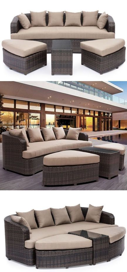 4 Piece Cove Beach Lounge Set //