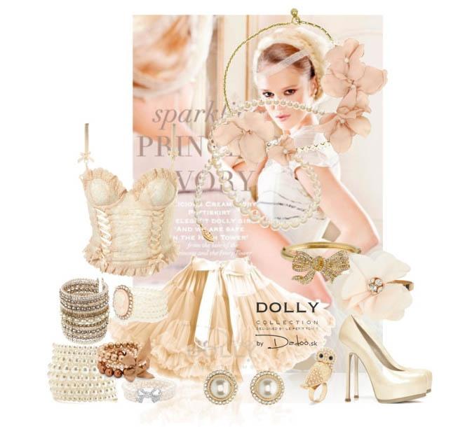sparkling Princess Ivory