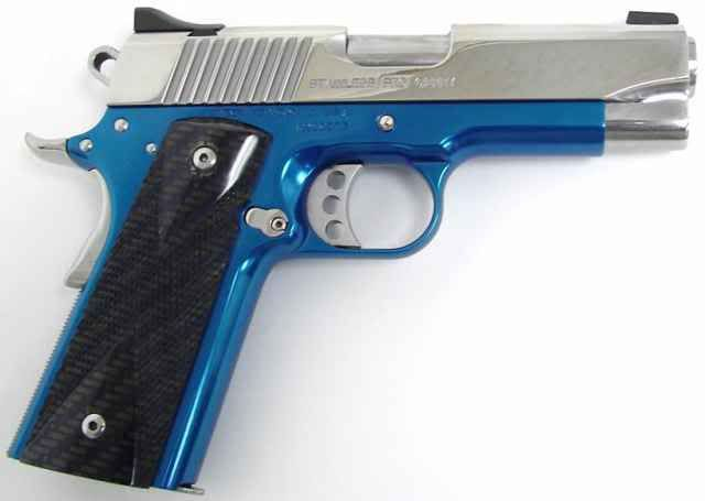 Blue Handgun blue gun | guns for fu...