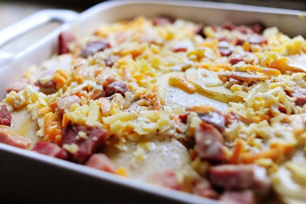Ree Drummond / The Pioneer Woman, Ham and Scalloped Potatoes