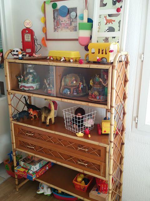 Mes 4 petits boulets : un blog de maman: Mon petit meuble vintage
