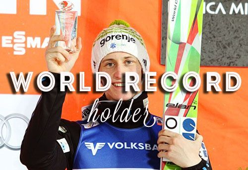 14. 2. 2015 Vikersund, 250m Peter Prevc longest jump in history