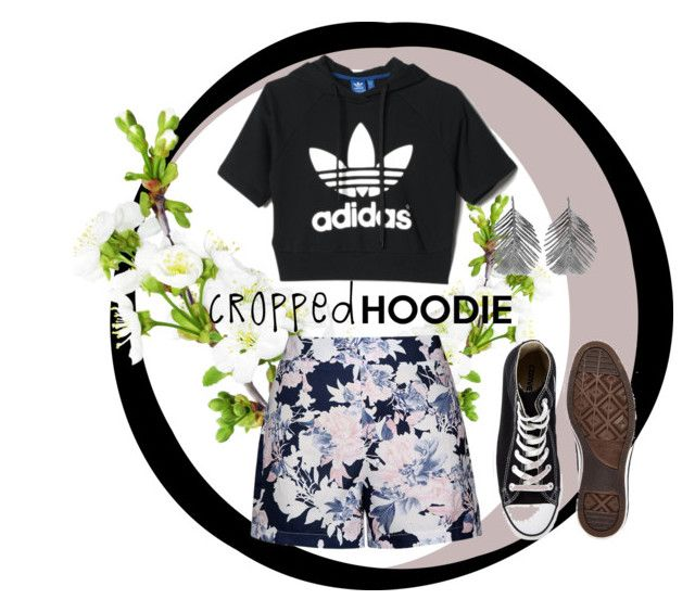 Cropped Never Goes Out of Style by shasasoso on Polyvore featuring adidas, Ally Fashion, Converse and Alex Monroe