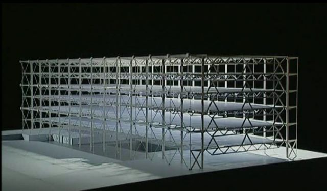 Centre pompidou structural model interest pinterest - Centre george pompidou architecture ...