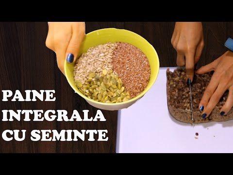 Paine integrala cu seminte de in - Unitatea Speciala de Bucate ep. XXVIII - YouTube