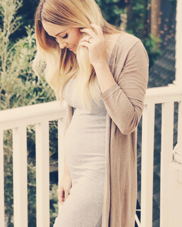 Lauren Conrad maternity style.
