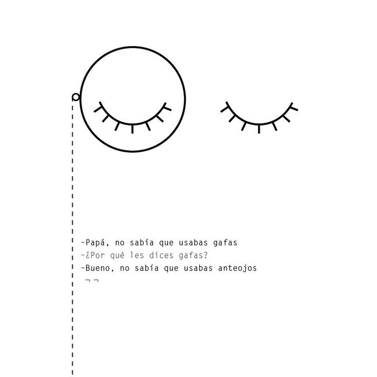 Gafas Anteojos lentes y monóculos. Niños que asombran e inspiran. Hijos que enseñan a los padres. #OrdinaryBites #familia #gafas #lentes #anteojos #palabras #frases #niños #kids #familytimes #parents #funny #smart #design #diseño #blackandwhite #monocle #monoculo