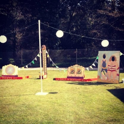 fairground game hire for weddings and events in devon